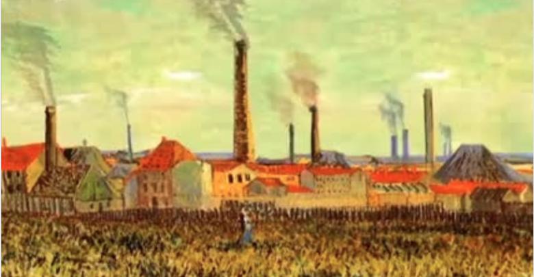 انیمیشن نقاشی های ون گوگ