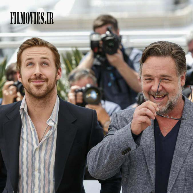 Federico Bernini / LaPresse 15-05-2016 Cannes spettacolo 69° Festival del cinema di Cannes. Photo Call del film The Nice Guys nella foto: Russell CROWE, Ryan GOSLING Federico Bernini / LaPresse 15-05-2016 Cannes entertainement 69th Cannes Film Festival Photo Call of the movies The Nice Guys In the photo: Russell CROWE, Ryan GOSLING