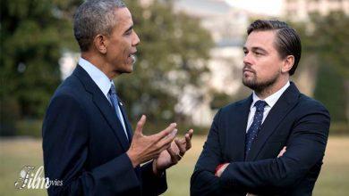 تصویر از دی کاپریو علیه اوباما