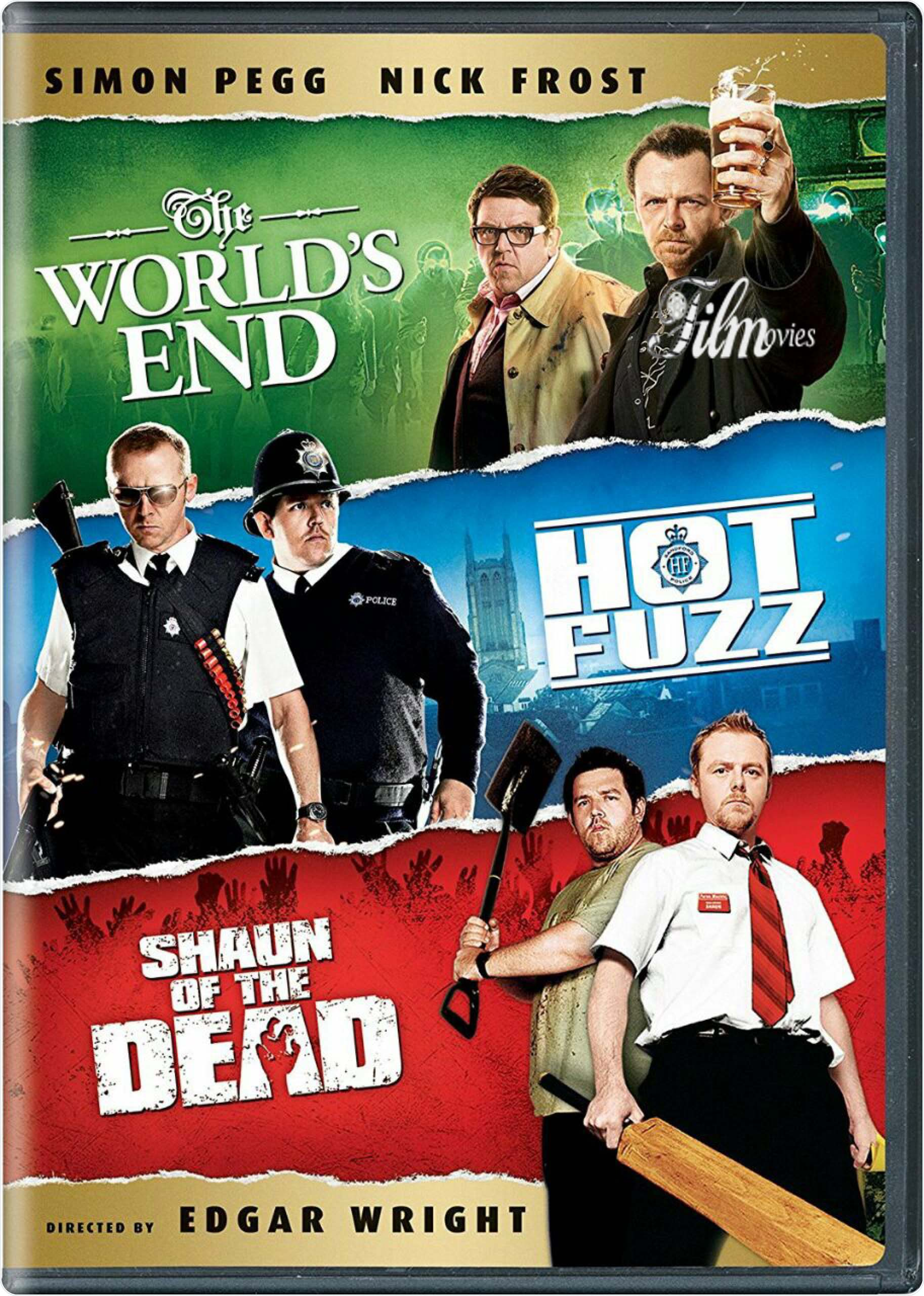 Three Flavours Cornetto Trilogy poster