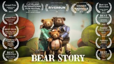 تصویر از انیمیشن کوتاه bear story