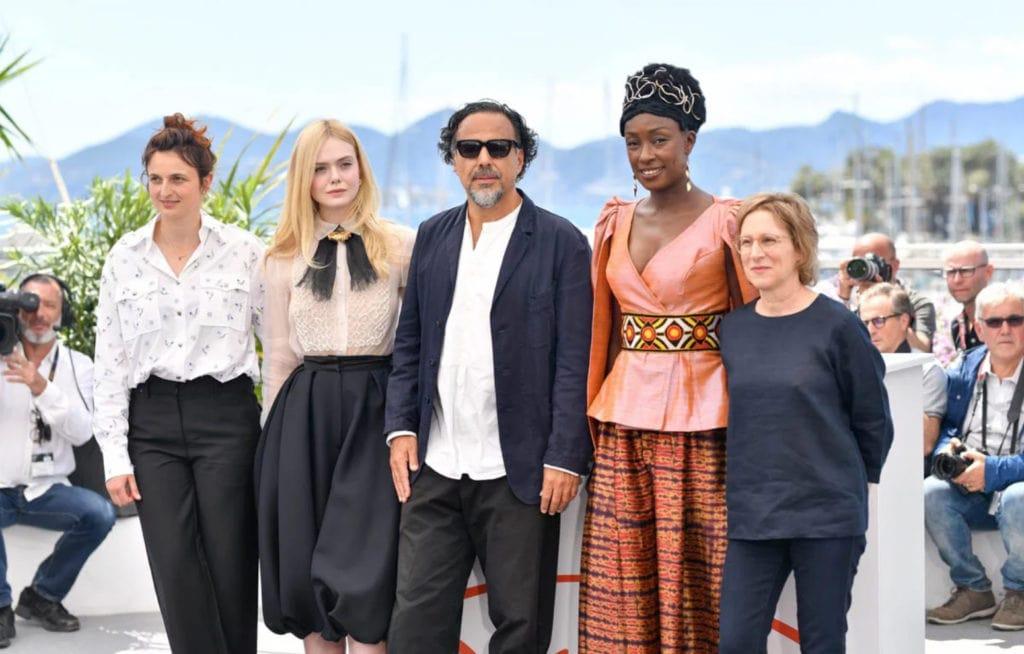 ایناریتو در کنار مهمانان جشنواره کن 2019