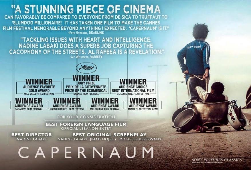 نقد فیلم کفرناحوم Capernaum