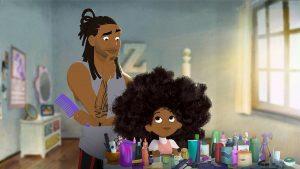 انیمیشن کوتاه عشق مو Hair love